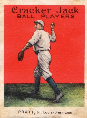 1914 Cracker Jack Derrill Pratt #93 Baseball Card
