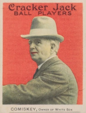 1914 Cracker Jack Charlie Comiskey #23 Baseball Card