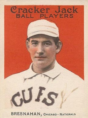 1914 Cracker Jack Roger Bresnahan #17 Baseball Card