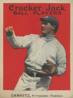 1914 Cracker Jack Howie Camnitz #16 Baseball Card