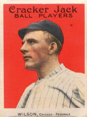1914 Cracker Jack Art Wilson #13 Baseball Card