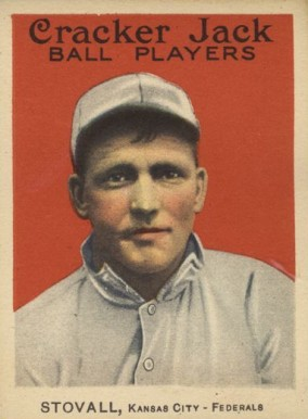 1914 Cracker Jack George Stovall #11 Baseball Card