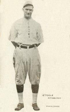 1913 Voskamp's Coffee Pirates Marty O'Toole #15 Baseball Card