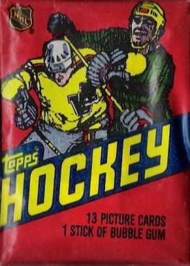 1980-1989 Unopened Packs (1980's)   #81Twp Hockey Card