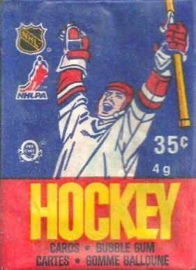 1980-1989 Unopened Packs (1980's)   #86OPCwp Hockey Card