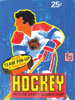 1980-1989 Unopened Packs (1980's)   #80Twpb Hockey Card