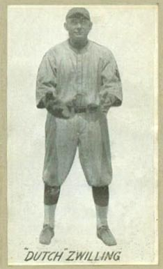 1923 Baltimore Shirt Co. Edward Zwilling #10 Baseball Card