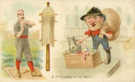 1893 Talk of the Diamond A Pitcher in the Box #13 Baseball Card