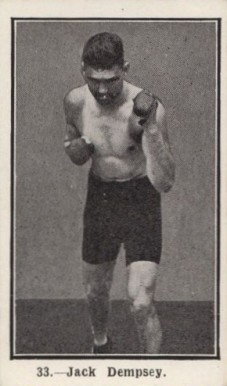 1923 Burstein Isaacs Jack Dempsey #33 Boxing & Other Card