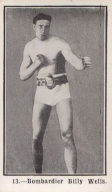 1923 Burstein Isaacs Billy  Wells #13 Boxing & Other Card