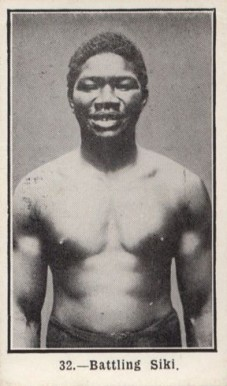 1923 Burstein Isaacs Battling  Siki #32 Boxing & Other Card