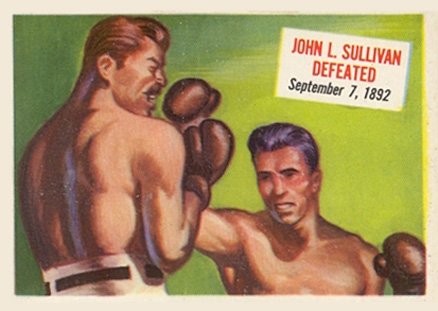 1954 Topps Scoops John Sullivan #71 Boxing & Other Card