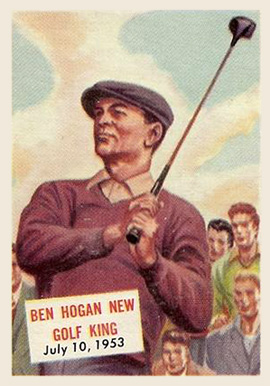 1954 Topps Scoops Ben Hogan #129 Boxing & Other Card