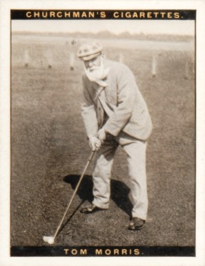 1928 Churchman (Famius Golfers-Large) Tom  Morris #8 Boxing & Other Card