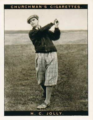 1928 Churchman (Famius Golfers-Large) H.C. Jolly #6 Boxing & Other Card
