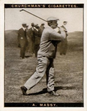 1928 Churchman (Famius Golfers-Large) Arnaud Massy #7 Boxing & Other Card