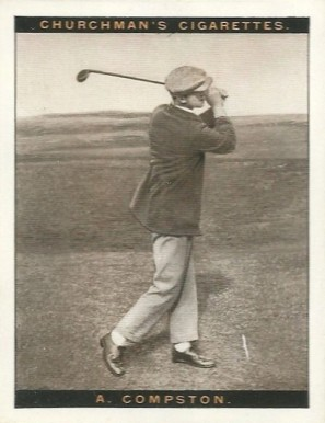 1928 Churchman (Famius Golfers-Large) Archie Compston #3 Boxing & Other Card