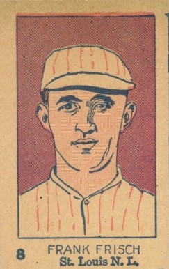 1926 W512 Strip Card Frankie Frisch #8-CARDS Baseball Card