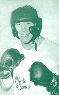 1947 Exhibits (1947-66) Chuck Speiser # Boxing & Other Card