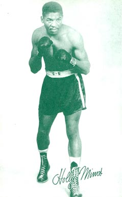 1947 Exhibits (1947-66) Holly Mims # Boxing & Other Card