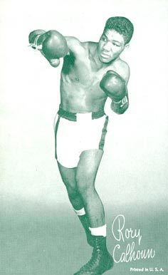 1947 Exhibits (1947-66) Rory Calhoun # Boxing & Other Card