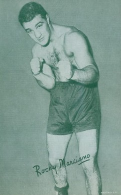 1947 Exhibits (1947-66) Rocky  Marciano # Boxing & Other Card