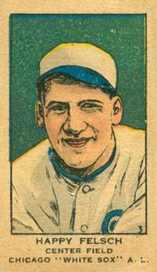 1919 W514 Strip Card Hap Felsch #3 Baseball Card