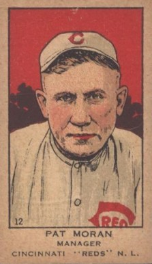 1919 W514 Strip Card Pat Moran #12 Baseball Card