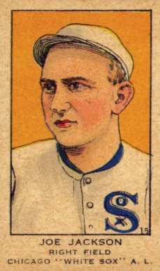 1919 W514 Strip Card Joe Jackson #15 Baseball Card