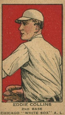 1919 W514 Strip Card Eddie Collins #25 Baseball Card