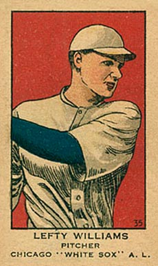1919 W514 Strip Card Claude Williams #35 Baseball Card