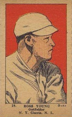 1923 W515-1 Strip Card Ross Youngs #29 Baseball Card