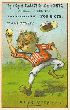 1888 Tobin Lithographs Red Borders   # Baseball Card