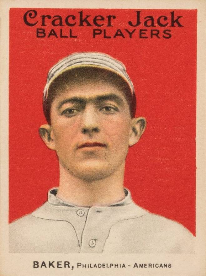 1915 Cracker Jack BAKER, Philadelphia-Americans #2 Baseball Card