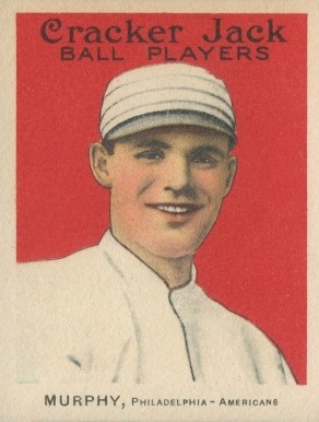 1915 Cracker Jack MURPHY, Philadelphia-Americans #165 Baseball Card