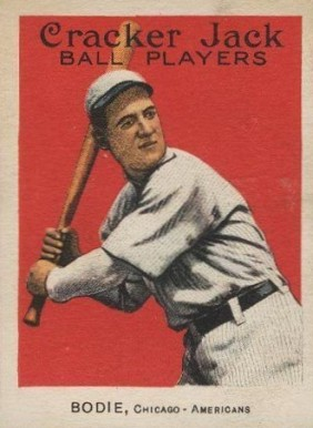 1915 Cracker Jack BODIE, Chicago-Americans #79 Baseball Card