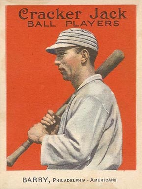 1915 Cracker Jack BARRY, Philadelphia-Americans #28 Baseball Card