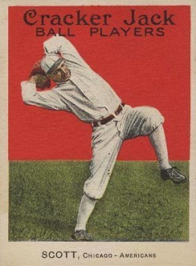 1915 Cracker Jack SCOTT, Chicago-Americans #26 Baseball Card