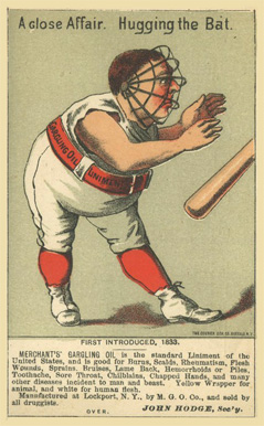 1888 Merchant's Baseball Comics   # Baseball Card