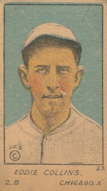 1920 W516-1 Strip Card Eddie Collins #23 Baseball Card