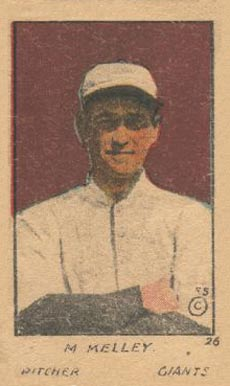 1920 W516-1 Strip Card M. Kelley #26 Baseball Card
