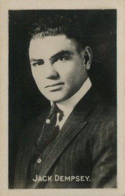 1922 Sporting Champions Jack Dempsey #9 Boxing & Other Card