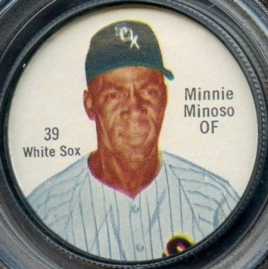 1962 Salada Coins Minnie Minoso #39 Baseball Card