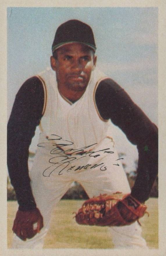 1969 MLB Photostamps Roberto Clemente # Baseball Card