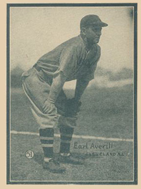 1932 #12 Cleveland Indians Pin Earl Averill