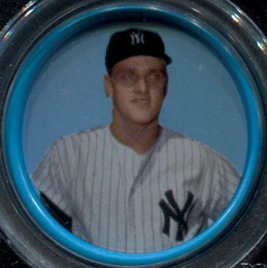1963 Salada-Junket All-Star Baseball Roger Maris #57 Baseball Card