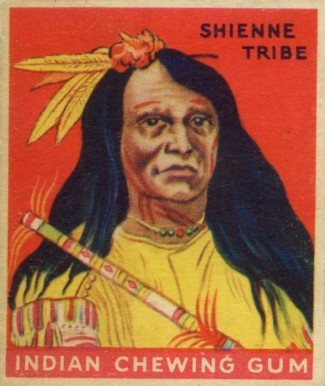 1933 Goudey Indian Gum Set Shienne Tribe #1 Non-Sports Card