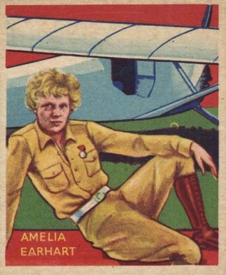 1934 National Chicle Sky Birds Amelia Earhart #48-48 Non-Sports Card