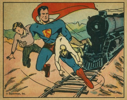 1940 Gum, Inc. Superman   #3 Non-Sports Card