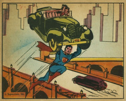 1940 Gum, Inc. Superman   #5 Non-Sports Card